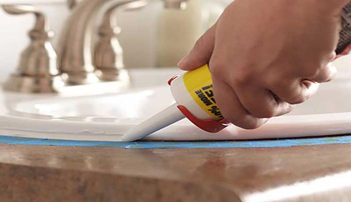 How to Caulk Around Kitchen Sink