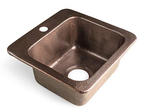 Monarch Abode 17092 Hand Hammered Baxter Kitchen Sink