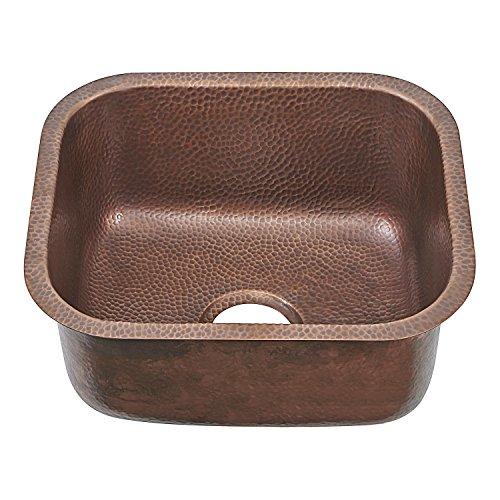 Sinkology SP503-18AC Copper Farmhouse Sink