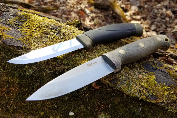 a bushcraft knife