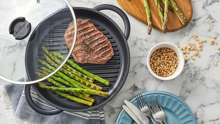 7 Best Grill Pan for Induction Cooktop | Reviews 2021