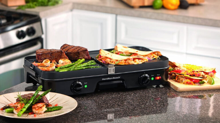 10 Best Grill and Griddle Combo in 2021