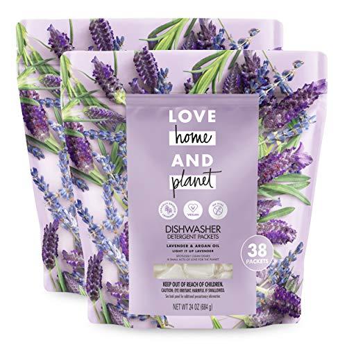 Lavender Packets Detergent Dishwasher