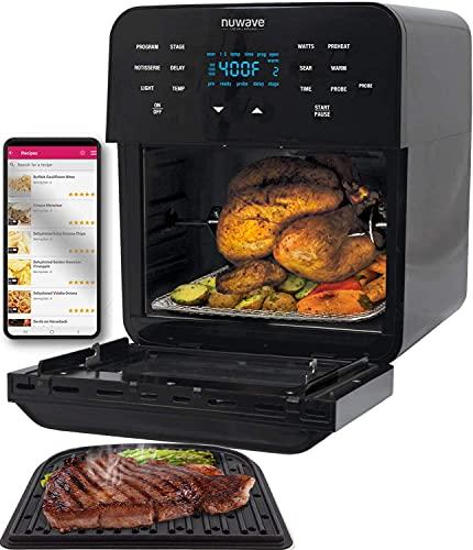 NuWave Brio 15.5-Quart Air Fryer Oven