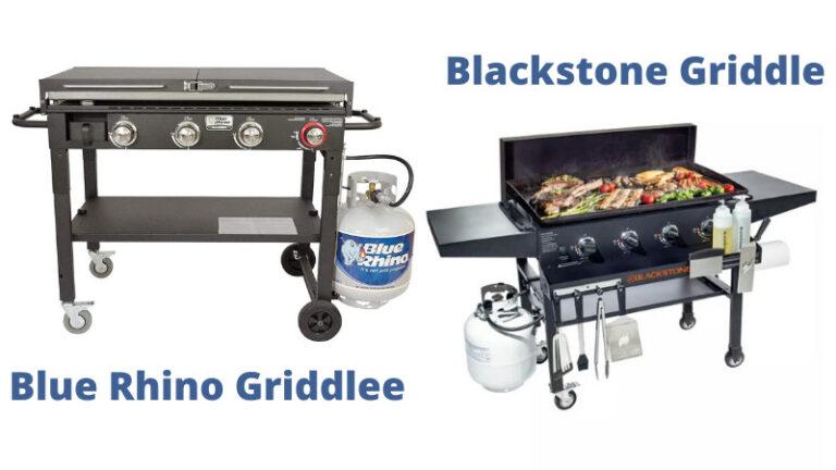 Blue Rhino Griddle vs Blackstone: Head to Head Comparison