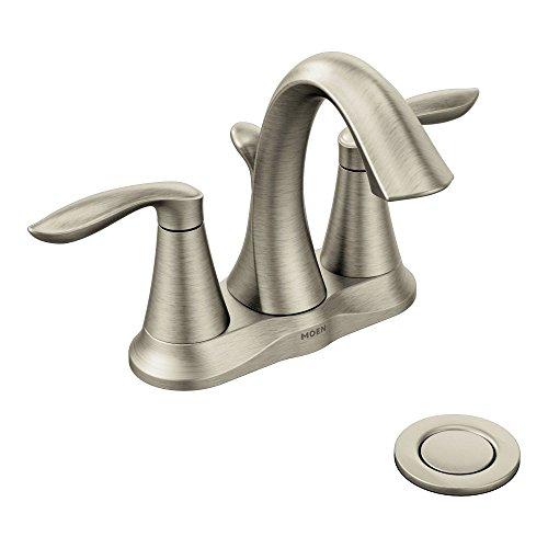 Moen 6410BN Eva Best Bathroom Faucet For Hard Water