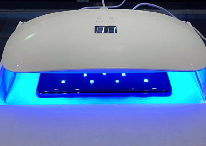 UV light kills harmful microorganisms