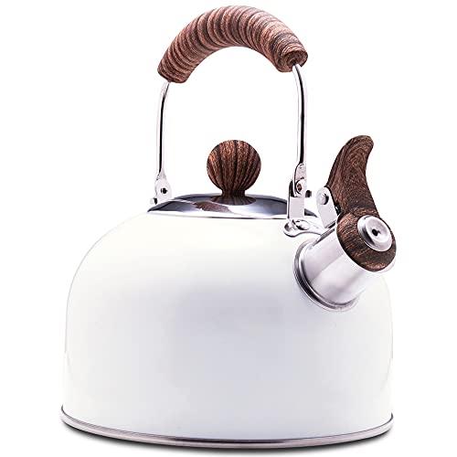 ROCKURWOK Stovetop Whistling Teapot