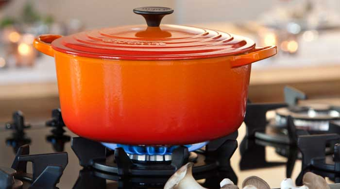 Why use a Dutch oven for induction cooktop